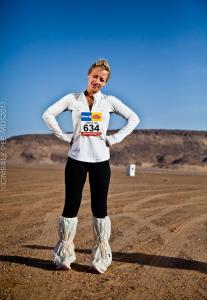 Six marathons, one desert. Madness