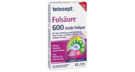 Tetesept Folsäure Tabletten